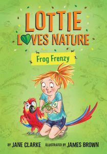 Kid's Book Review: Lottie Loves Nature – Frog Frenzy